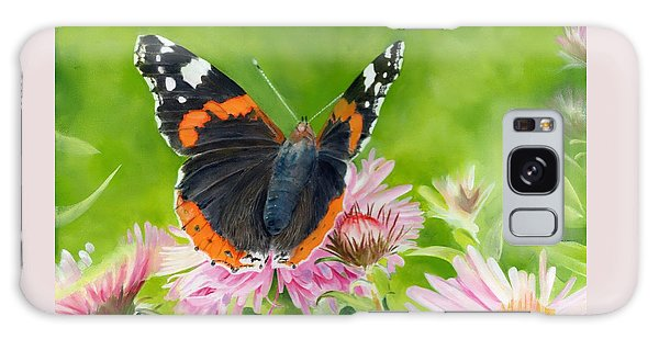 Red Admiral Galaxy Case