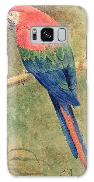 Red And Blue Macaw Galaxy S8 Case
