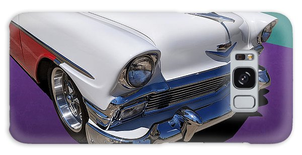 Red And White 1950s Chevrolet Wagon Galaxy Case