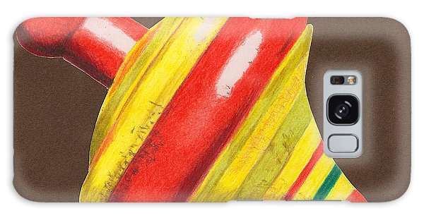 Red And Yellow Top Galaxy Case