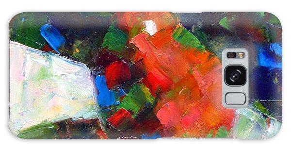 Red Anjou Confetti Galaxy Case