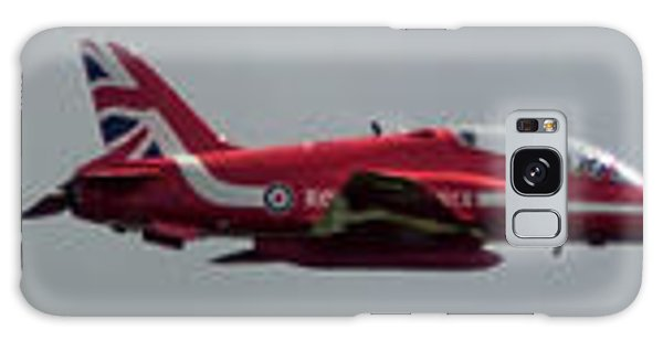 Galaxy Case featuring the photograph Red Arrow Straight - Teesside Airshow 2016 by Scott Lyons