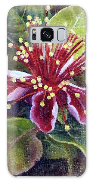 Pineapple Guava Flower Galaxy Case