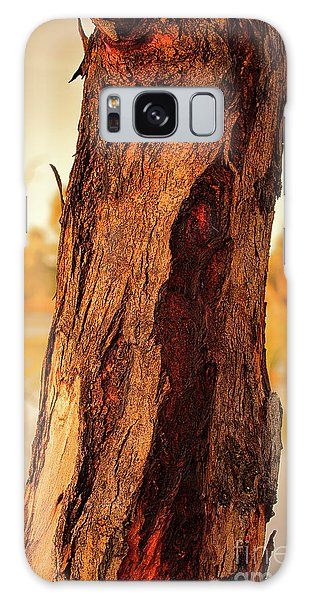 Red Bark Galaxy Case by Douglas Barnard