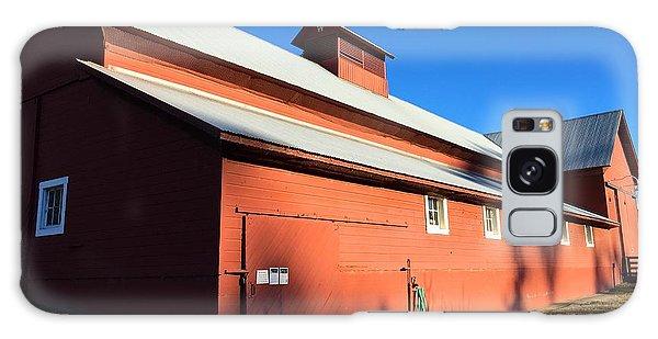 Red Barn, Blue Sky Galaxy Case