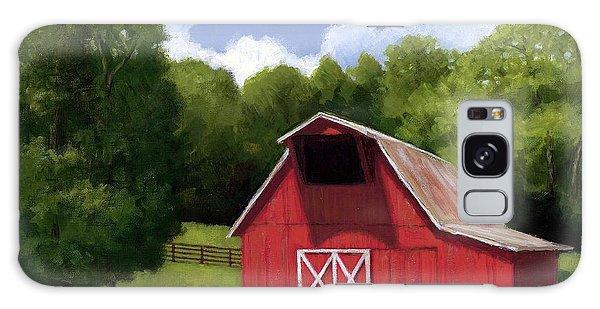 Red Barn In Franklin Tn Galaxy Case