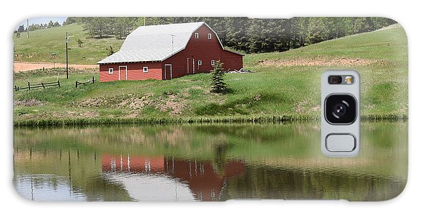 Red Barn Burgess Res Divide Co Galaxy Case