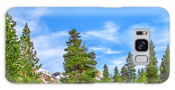 Yosemite National Park Galaxy S8 Case - Red Barn On A Hill by Az Jackson