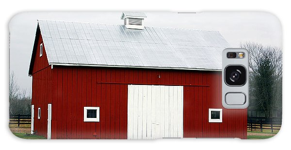 Greeting Galaxy Case - Red Barn- Photography By Linda Woods by Linda Woods