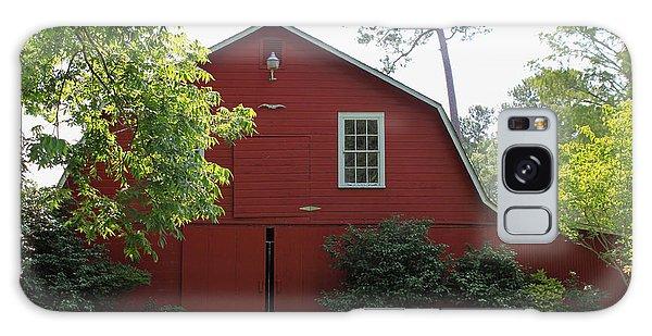 Red Barn Galaxy Case