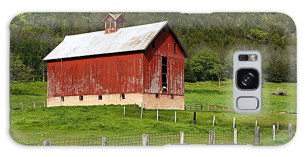 Red Barn With Cupola Galaxy Case