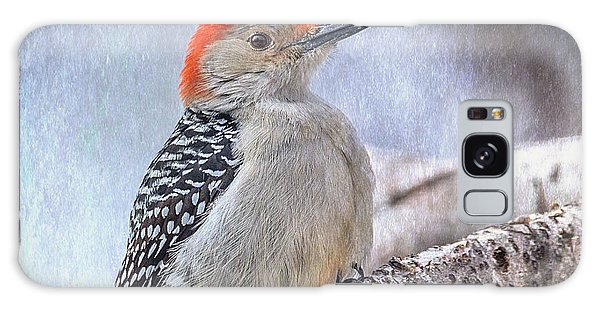 Red-bellied Woodpecker Galaxy Case by Patti Deters