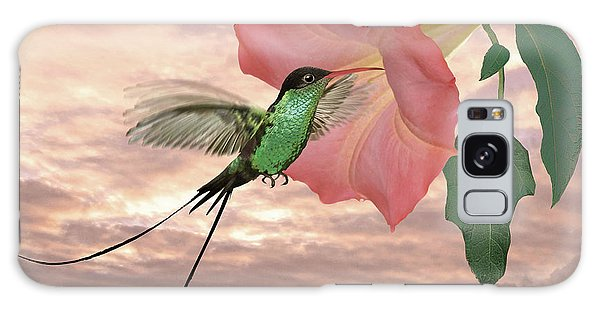 Red-billed Streamertail Hummingbird Galaxy Case