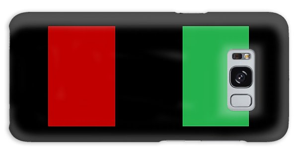 Red Black And Green Galaxy Case