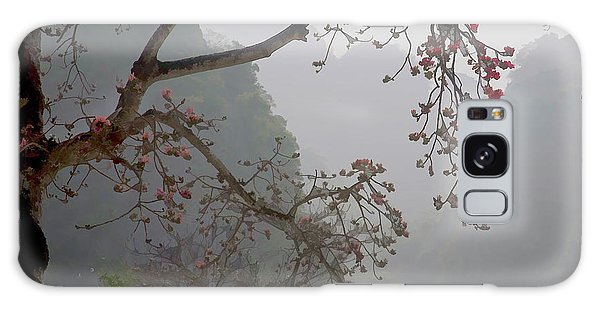 Red Blossoms  Vietnam  Galaxy Case by Chuck Kuhn