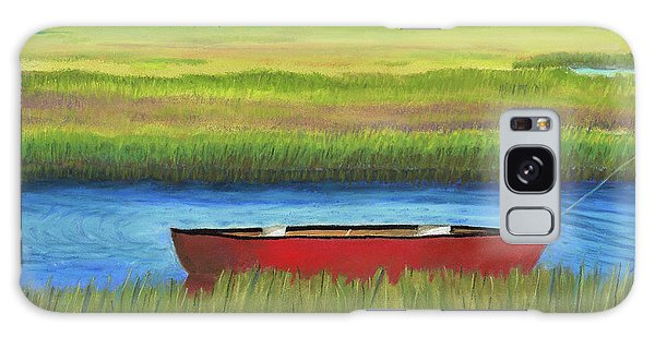 Red Boat - Assateague Channel Galaxy Case