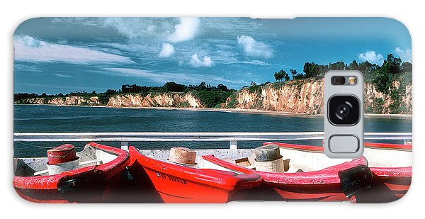 Red Boat Diaries Galaxy Case