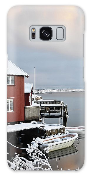 Boathouses Galaxy Case