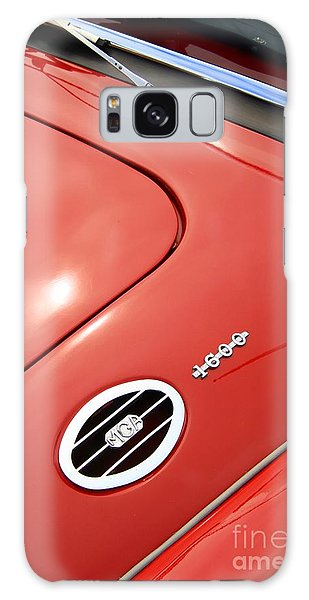 Galaxy Case featuring the photograph Red Bonnett by Stephen Mitchell