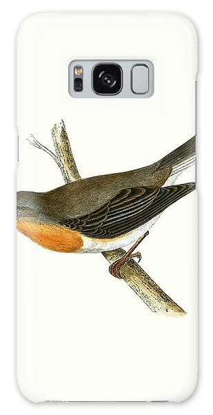 Song Bird Galaxy Case - Red Breasted Flycatcher by English School