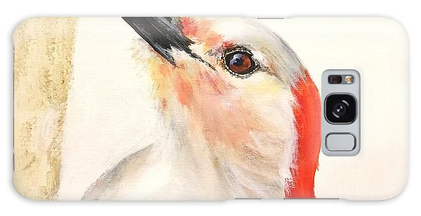 Red Breasted Woodpecker Galaxy Case