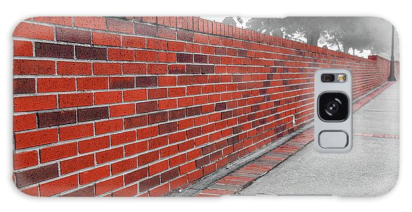 Galaxy Case featuring the photograph Red Brick by Doug Camara