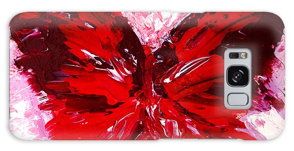 Red Butterfly Galaxy Case