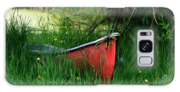 Red Canoe Galaxy Case