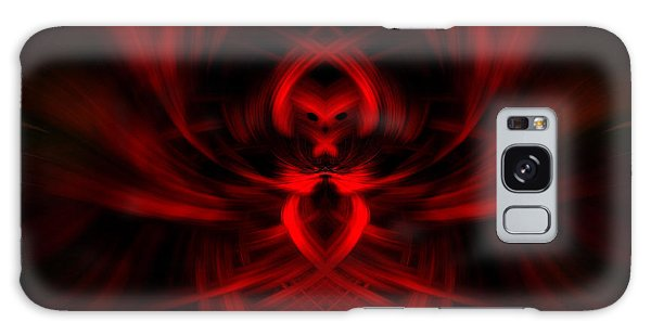 RED Galaxy Case by Cherie Duran