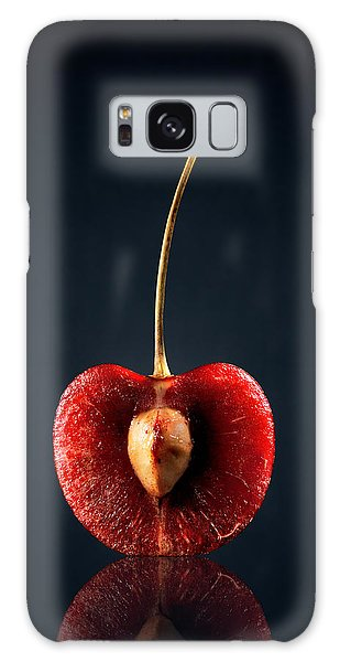 Fruits Galaxy S8 Case - Red Cherry Still Life by Johan Swanepoel