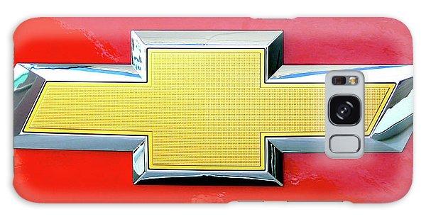 Red Chevy Bowtie Galaxy Case