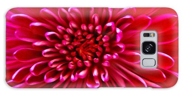 Red Chrysanthemum Galaxy Case