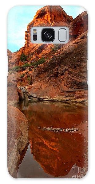 Red Cliffs Reflections Galaxy Case