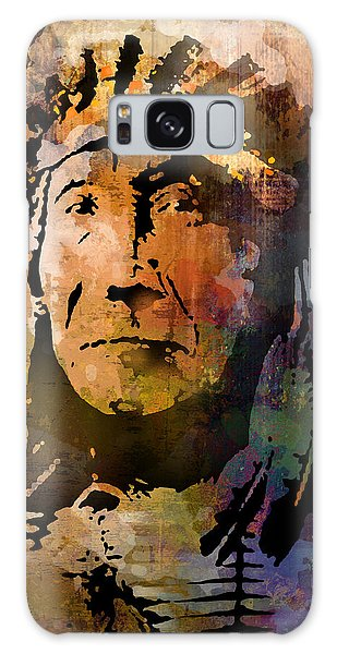 Red Cloud Galaxy Case