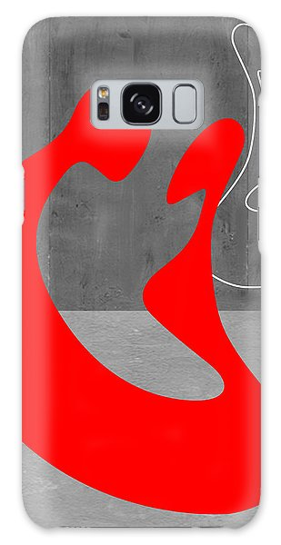 Day Galaxy Case - Red Couple by Naxart Studio