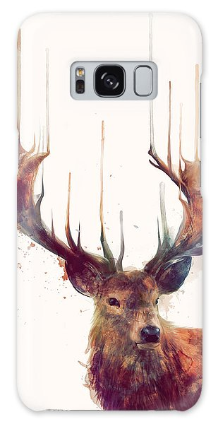 Forest Galaxy Case - Red Deer by Amy Hamilton