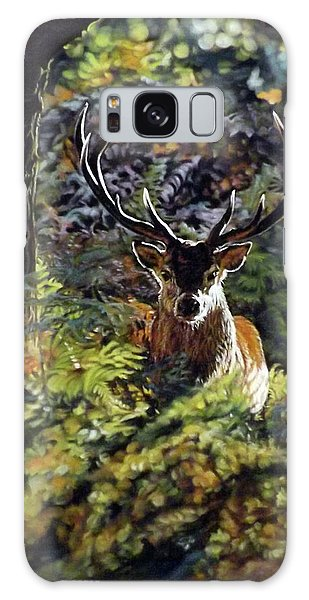Red Deer Stag Galaxy Case