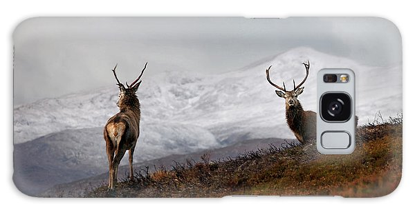 Red Deer Stags Galaxy Case