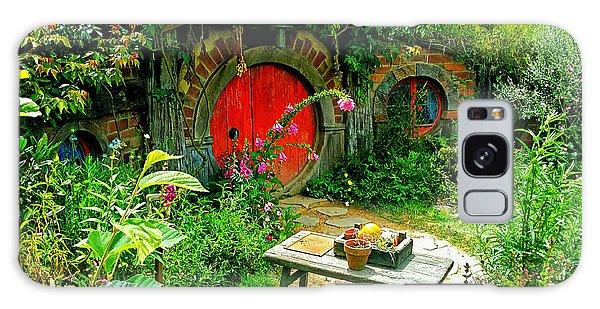 Red Door Hobbit Home Photo Galaxy Case