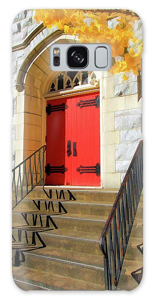 Red Door Tradition Galaxy Case