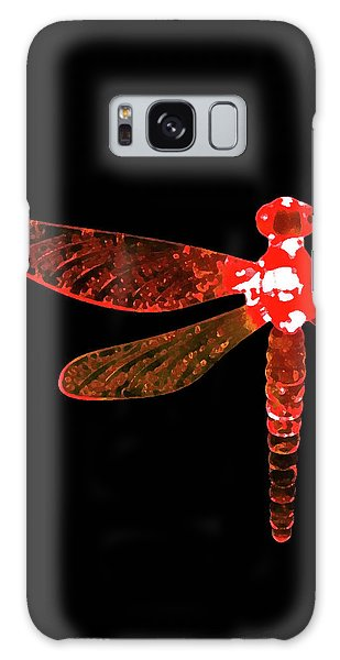 Red Dragonfly Galaxy Case
