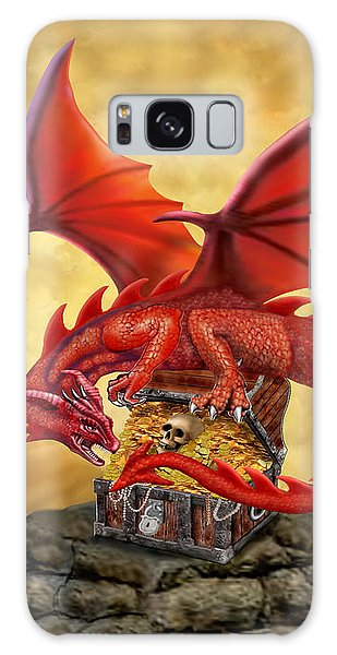 Red Dragon's Treasure Chest Galaxy Case