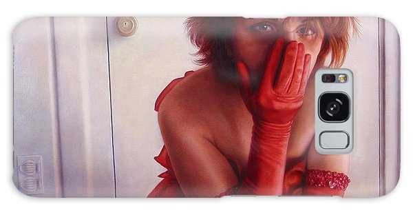 Dress Galaxy Case - Red Dress by James W Johnson