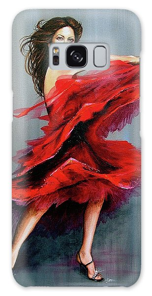 Red Dress Galaxy Case