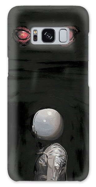 Red Eyes Galaxy Case