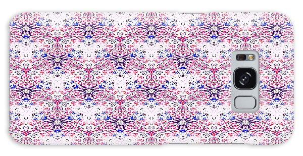 Red Fabric Pattern Galaxy Case