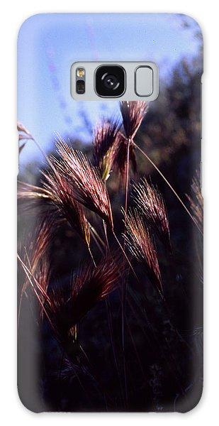 Red Feathers Galaxy Case