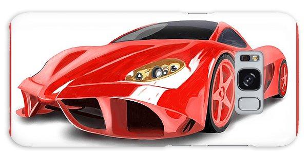 Red Ferrari Galaxy Case