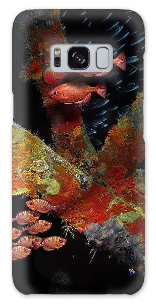 Red Fish On The Rhone Galaxy Case