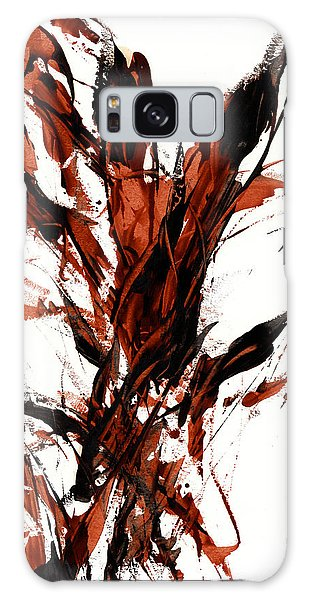 Red Flame 66.121410 Galaxy Case by Kris Haas